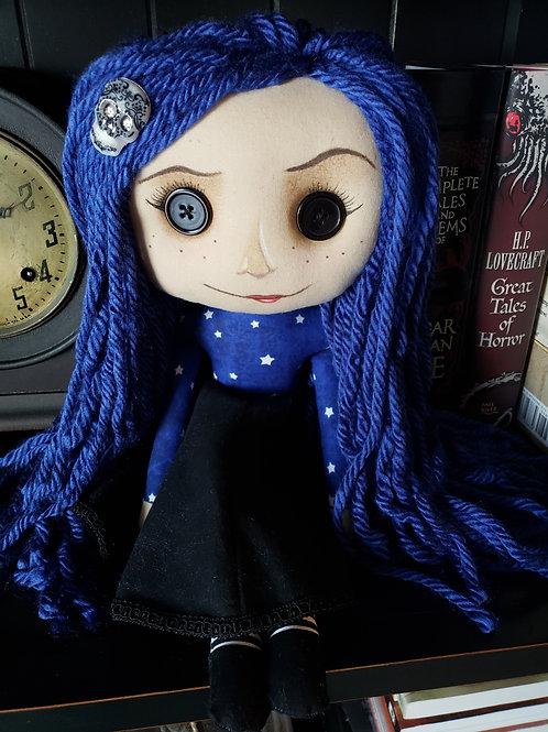 """16"""" Handmade Doll 'Coraline (Not Coraline)'"""