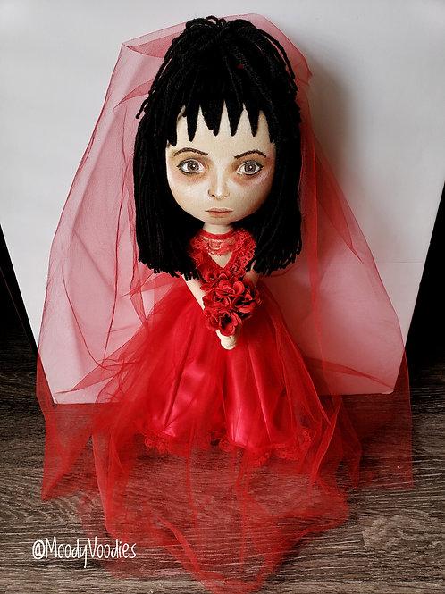 """17"""" Handmade Lydia Deetz Doll"""