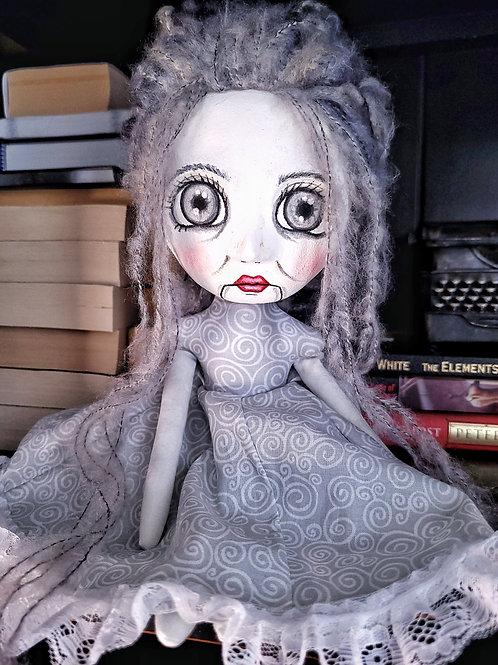"14"" Handmade Art Doll ""Lila"""