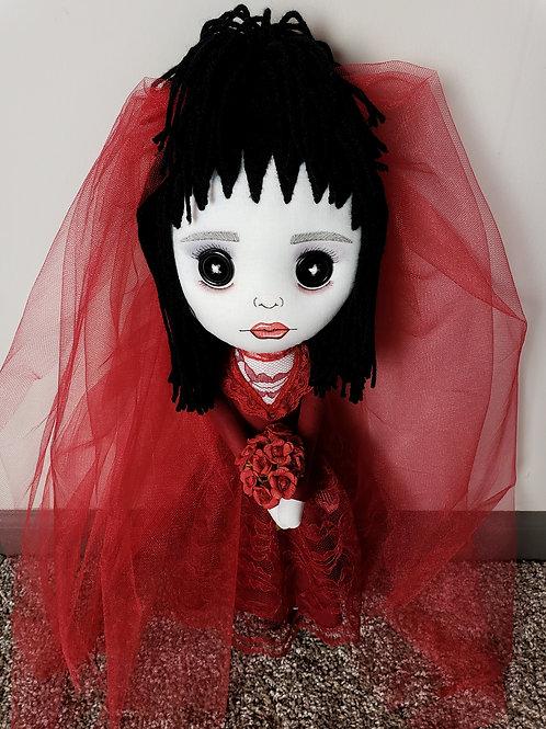 """16"""" Handmade Lydia Deetz Doll"""