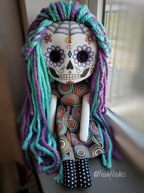 """16"""" Handmade Sugar Skull"""