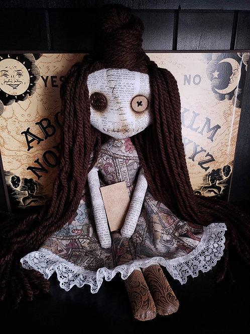 "17"" Handmade Moody Tarot Doll"