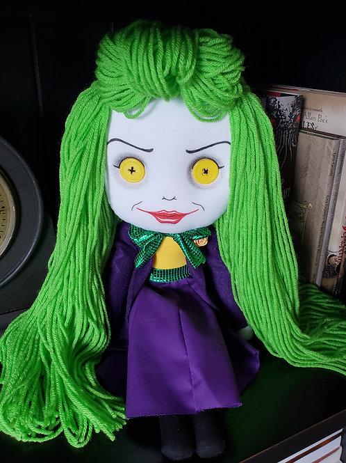 """16"""" Handmade Joker Girl Doll"""