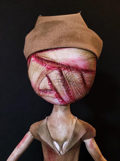 "18"" Handmade Silent Hill Nurse"