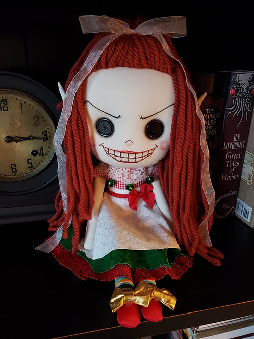 "16"" Handmade Elf Doll"