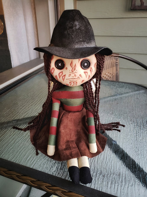 "16"" Handmade 'Freda' Doll"
