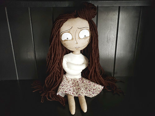 "16"" Handmade ""Crazie"" Doll"