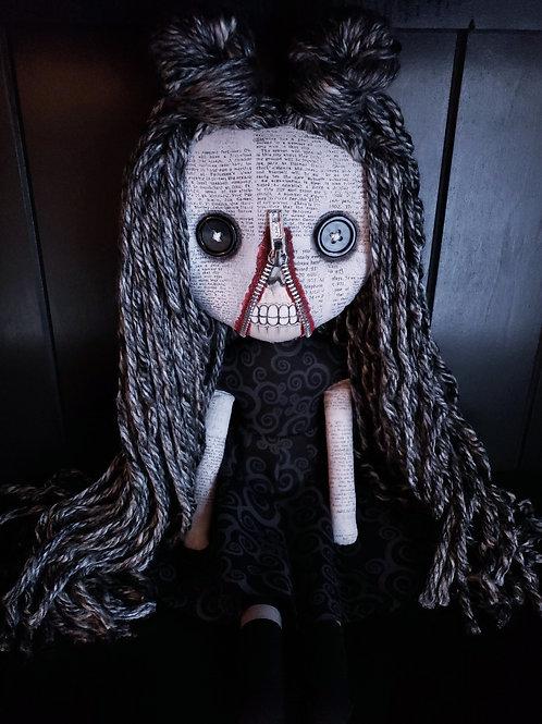 """18"""" Handmade Zipperface Doll"""