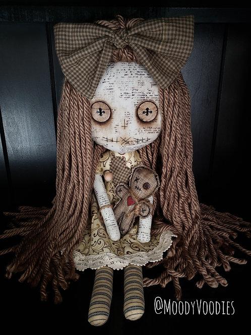 "16"" Handmade Voodoo Doll w/ Doll"