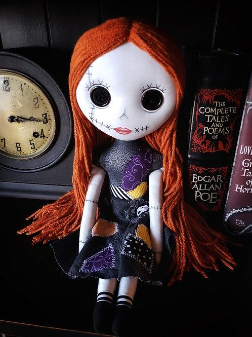 "16"" Handmade ""Sally (Not Sally)"" Doll"