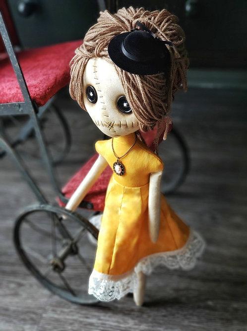 "16"" Handmade Grungy-Fancy Doll"