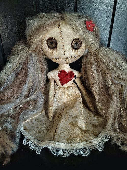 "13"" Handmade Mini Moody Voodoo Doll"