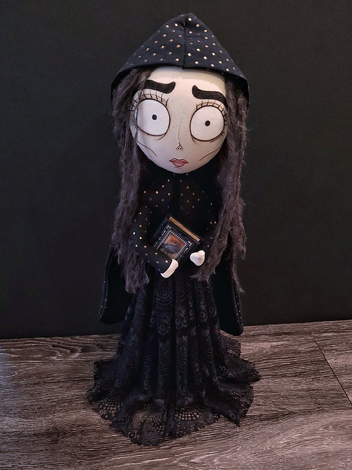 "20"" Free-standing Handmade Witch Doll"