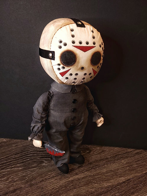 """18"""" Handmade Jason Doll"""
