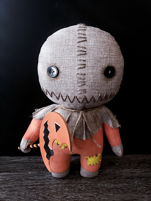 "14"" Handmade Sam Doll with Lollipop"