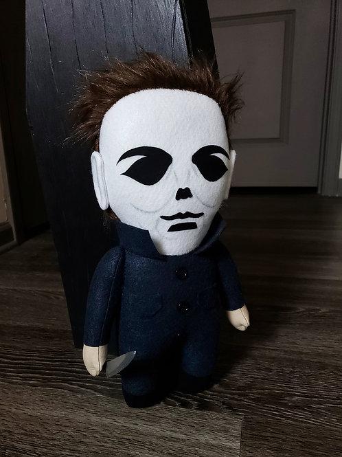 """14"""" Handmade Michael Myers-Inspired Doll"""
