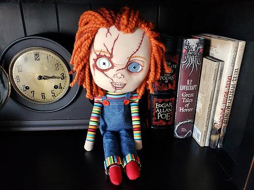 "18"" Handmade Chucky-Inspired Doll"