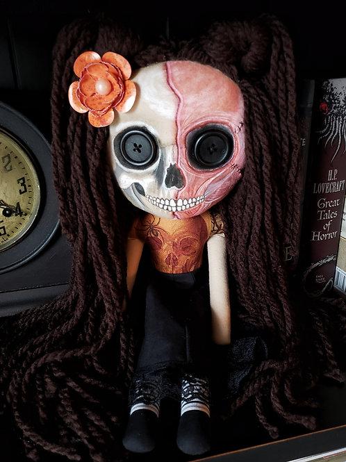"""16"""" Handmade Doll Skull-faced Doll"""