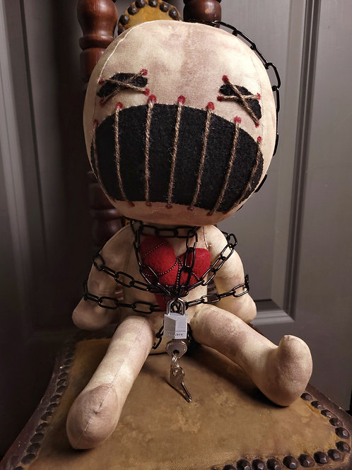 "12"" Handmade Clive Doll"