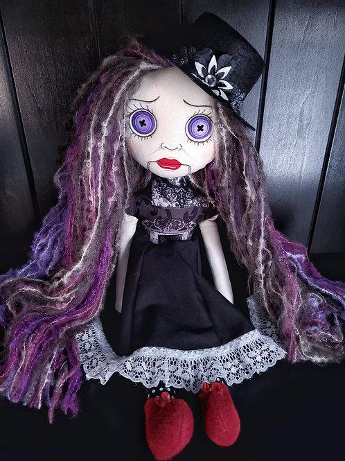 "18"" Handmade Ventriliquest Doll"