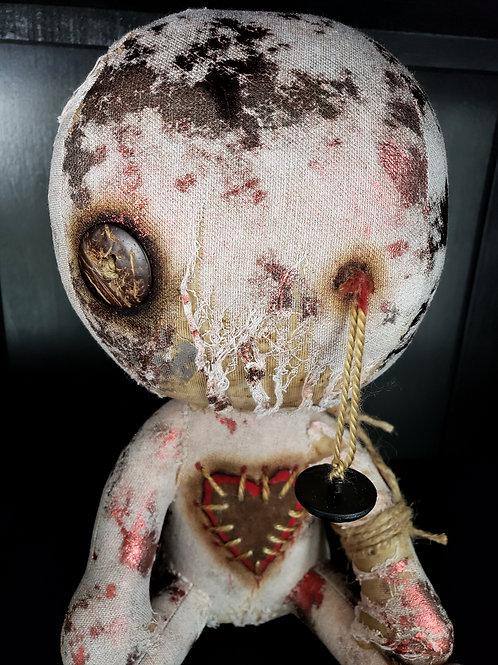 "12"" Handmade Voodoo Doll ""Blitz"""
