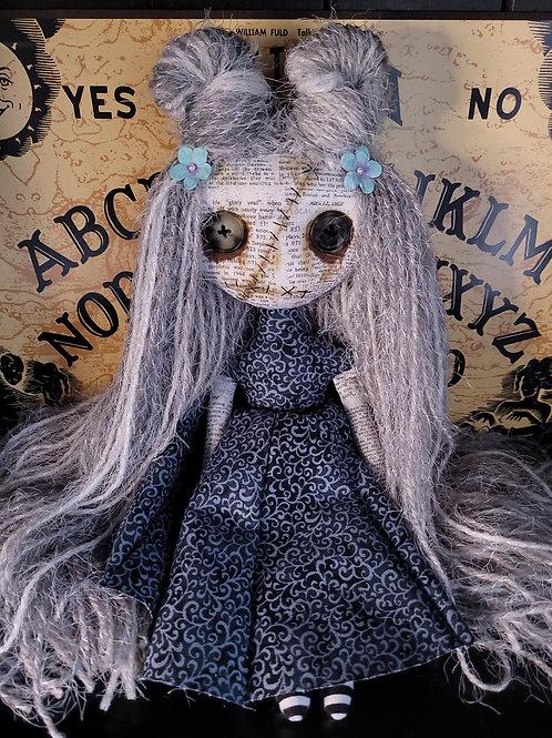 "13"" Handmade Mini Moody Doll"