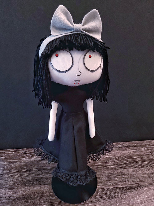 "18"" Handmade Piper the Vampire Doll"