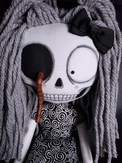 "18"" Handmade 'Wini Wormholt' Doll"