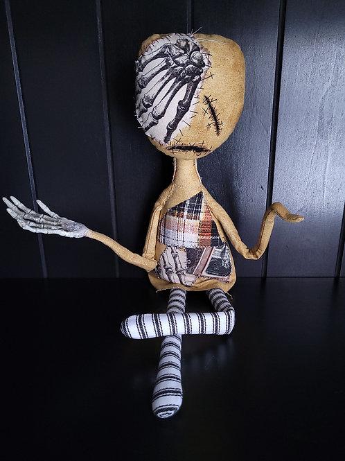 """19"""" Handmade 'Tood Voodoo Doll"""