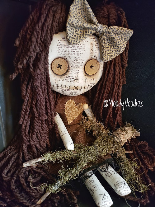 "16"" Handmade Voodoo Doll with Stick Voodoo"