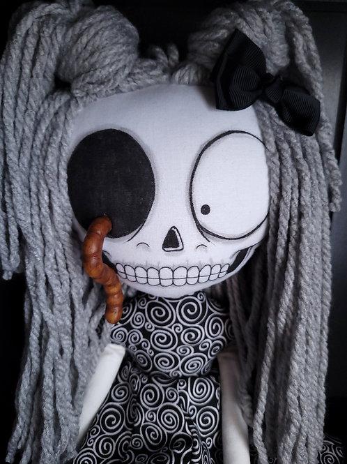 "18"" Handmade Wini Wormholt Doll"
