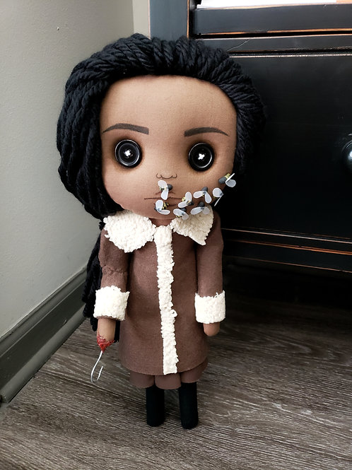 "16"" Handmade 'Candy' - A Candyman-Inspired Doll"