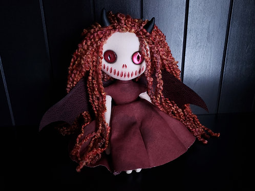 "13"" Handmade Mini Moody Demon"