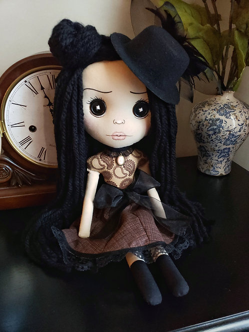 """16"""" Handmade Doll with Hat"""
