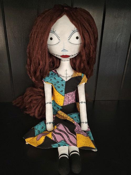 "18"" Handmade Sally Doll"