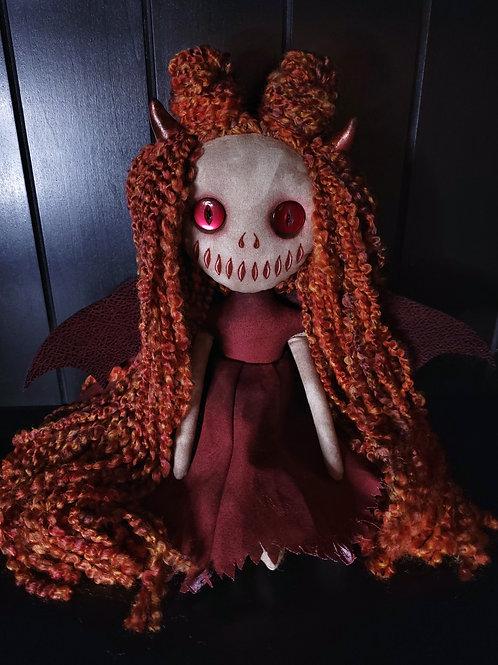 "13"" Handmade Mini Moody Demon"
