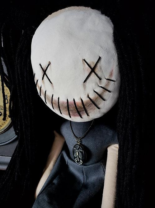 """16"""" Handmade Clay-faced Doll"""