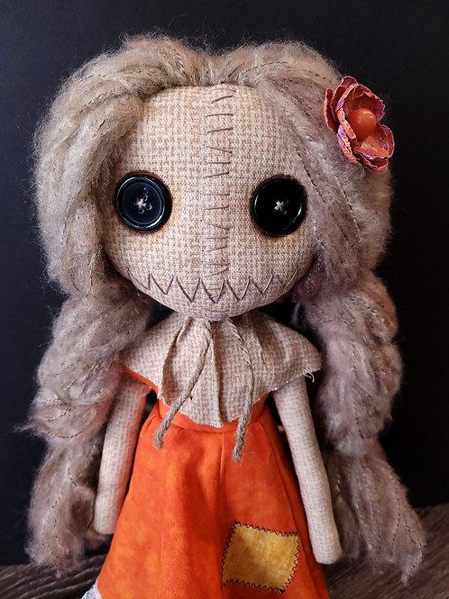 """18"""" Handmade Samantha Doll (Braided Hair)"""