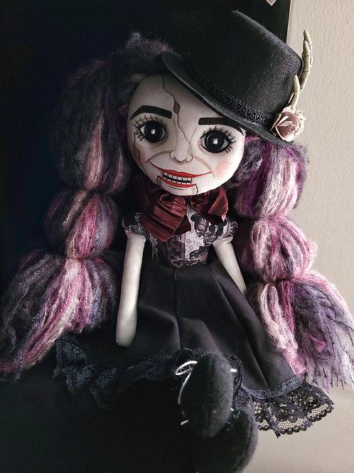 "18"" Handmade Moody Ventriliquest Doll"