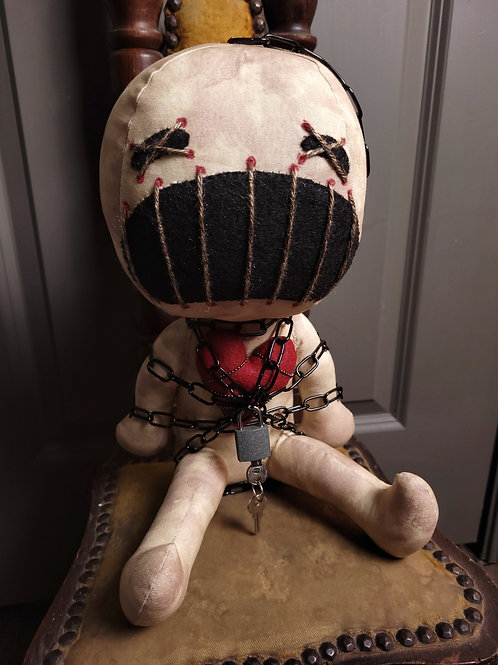 "PRE-ORDER - 12"" Handmade 'Clive' Doll"