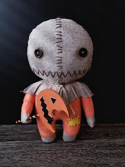 "14"" Handmade Sam Doll with Lollipop"