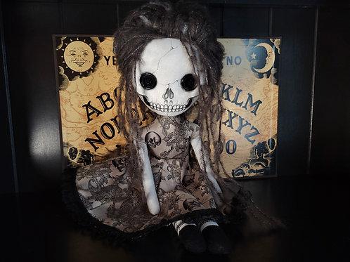 """18"""" Handmade Skull Doll"""