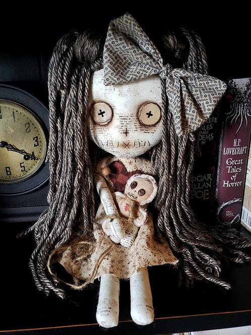 """16"""" Handmade Voodoo Doll w/ Voodoo Doll"""