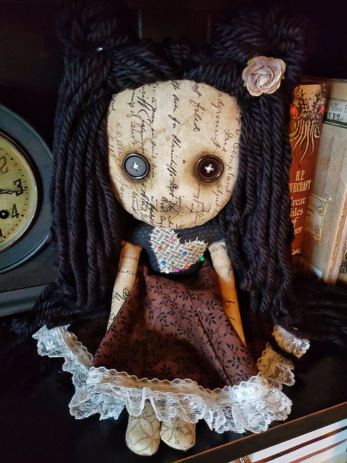 """16"""" Handmade Voodoo Girl"""