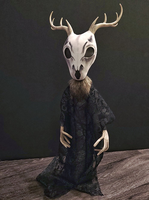 "23"" Handmade Wendigo Doll"