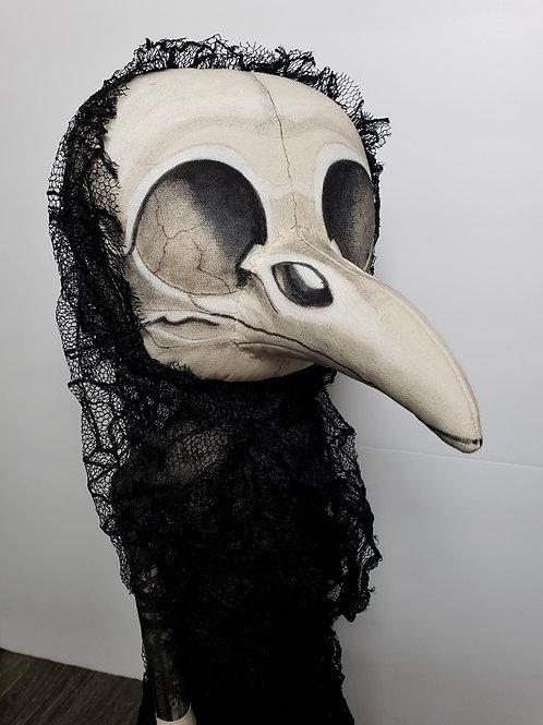 """18"""" Handmade Bird Skull Doll"""