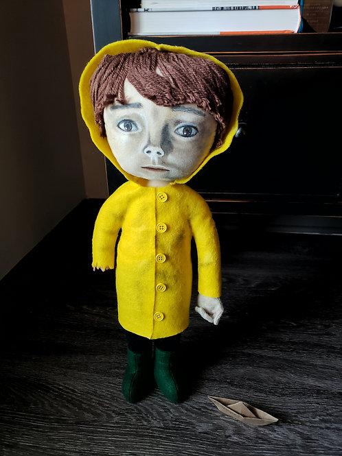 "18"" Handmade Georgie Denbrough Doll"