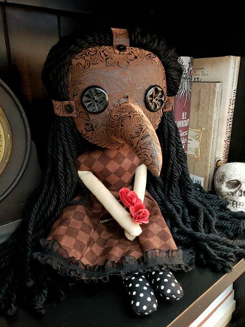 """16"""" Handmade Plague Doctor"""
