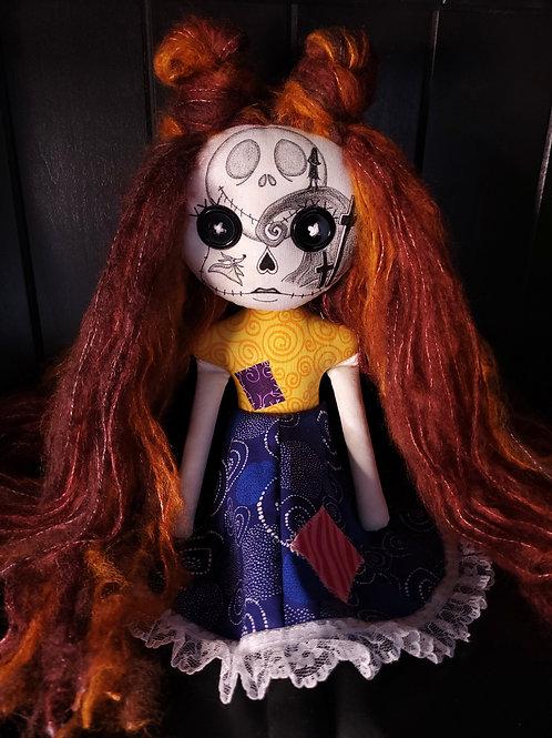 """PRE-ORDER - 18"""" Handmade Nightmare (2) Sugar Skull Doll"""