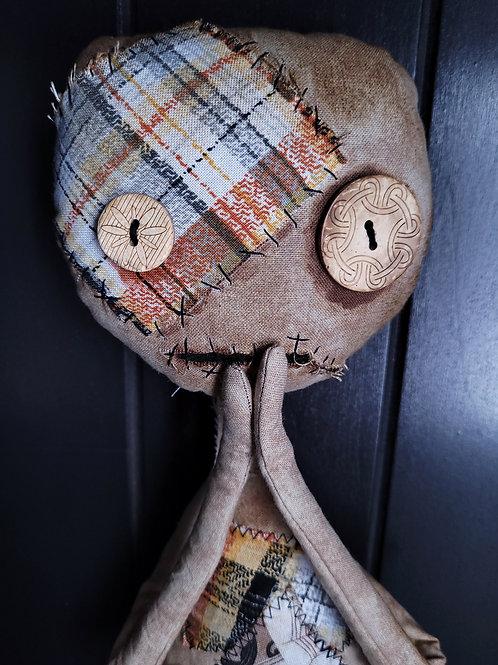 "19"" Handmade 'Tood Voodoo Doll (Shook)"